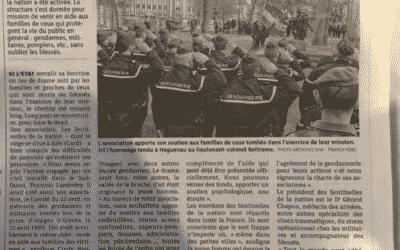 """Article """"Les dernières nouvelles d'Alsace"""""""