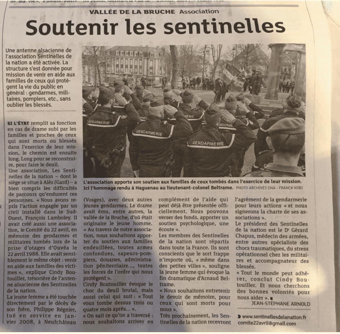article les dernières nouvelles d'Alsace