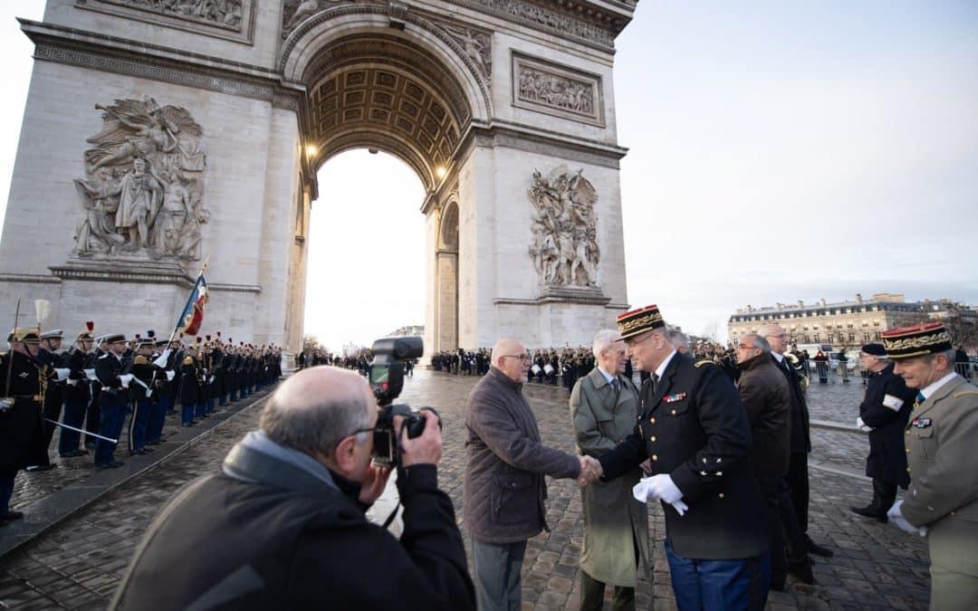 Journée des morts de la Gendarmerie le 17 février : les photos de la cérémonie aux Invalides le matin du 17 février 2020